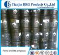 De tratamiento de agua férrico cloruro de anhidro 96% FeCl3 precio