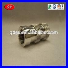 Custom screw machining of aluminum rod inserts full made in China