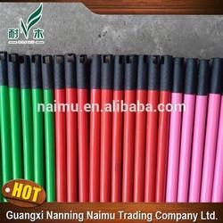 household PVC cover 110cm 120cm broom /mop wooden stick