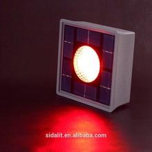 130*130mm,0.8W 1800mAh mini poly photovoltaic lighting outdoor led solar square light