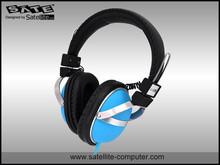 SATE- stereo blue headphone (AE-347)