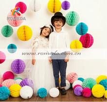 ****Mix Colors***Low MOQ***Best Quality Paper Honeycomb Ball Decorations
