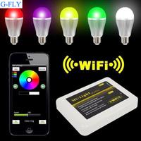 E27/E26/B22 pin base lamp wifi mi. light wifi bulb lamp light bulb wifi