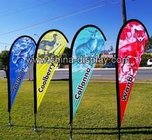 Advertising outdoor aluminum fiberglass flagpole