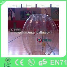 Manufacturing PVC/TPU body footballs soccer balls / human sized soccer bubble ball