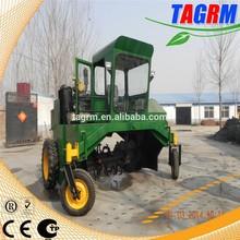 Green waste compost mixer machine/crops waste compost mixer turner/corn straw compost machine M2600II