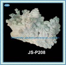 De China venta al por mayor tallado de piedra cementerio jarrones