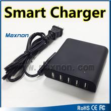 innovative designed universal multi 5 port usb charger