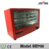 Electric radiant room air protable heater,portable electric heater