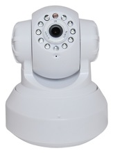 wifi ip camera with day and night surveillance, the image crisp and clear
