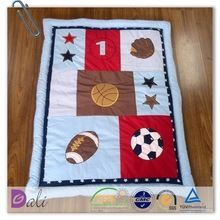 New Design cute lovely high quality baby quilt