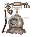 di lusso vendita calda manopola vecchio stile telefono fisso per la decorazione domestica con prezzo promozionale