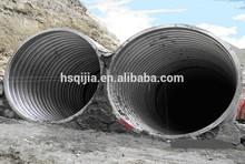 stormwater drainage culvert pipe, corrugated steel culvert, galvanized corrugated steel culvert