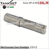 2014 New Cree XP-E R3 Led High Power Stylish mini promotional torch