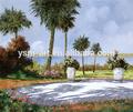 Toile peinture à l'huile abstraite