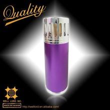 bio law decor polished shiny purple oil burner oil warmer