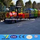 amusement park electric trains rides road train for children