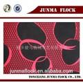 rot und schwarz kartoffel muster china strömten stoff für dekorativen wohnkultur
