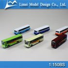 1:150 scale model car model bus