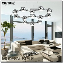 Free Shipping Black Silver Pendant Light, Hanging Lighting MD8602 L13