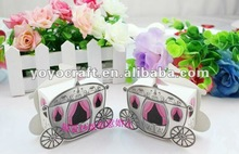 fairy tale carriage Lovely Baby Shower Favor Gift Boxes