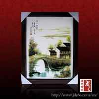 Modern style good quality ceramic town famous artists painting for art collection