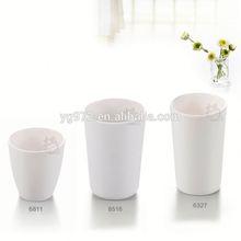 a5เกรดอาหารสีทึบสีขาวขายร้อนถ้วยเมลามีนเมลามีนเมลามีนถ้วยกาแฟถ้วยชา