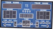 LED digital football scoreboard digital score board