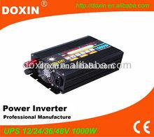 12v 220v 1kw battery charger inverter for solar panel