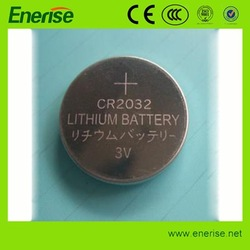 cr2032 3 Volt Lithium Button Cell Battery with long discharge life used for 3D Glasses