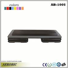 """Fitness Aerobic Step Exercise Stepper Platform Adjust 4""""- 6""""- 8"""" w/ Riser"""