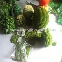 Q111255 artificial moss mat garden decoration moss ball topiary green artificial moss