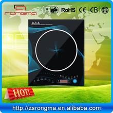 Hot pot kitchen appliances crystal plate single burner induction cooker