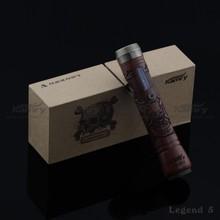 2014 Vaporizer Wood E Cig Box Mod E Cigarette Legend V