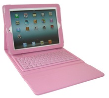 For Apple iPad 2 3 4 Leather Bluetooth Wireless Keyboard Case Cover With Stand