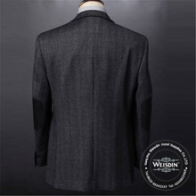 breathable made in China 100% polyester three bottons mens suits 2012