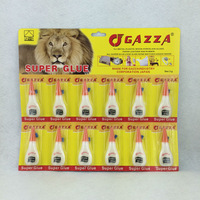 Guo elephant 3g super glue in aluminium tube cyanoacrylate adhesive