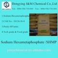 Shmp hexametafosfato de sodio 68% pureza