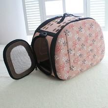 Durable design portable pet carrier