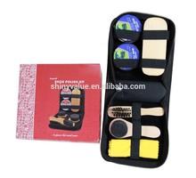 Shoe Care Set/Shoe Shine Kit/Shoe Polish Bag For Traveling Manufacturer
