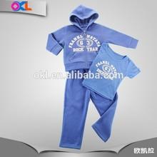 Hot sale great quality zhejiang manufacturer clothing for kids boy summer 3pcs set