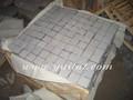 Padang Dark Granite Natural Stone Pavements, G654 Dark Grey Granite Paving Stones, G654 5cm Thick Landscaping Stones