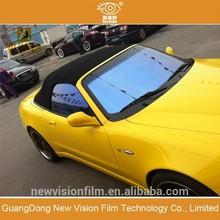 75 % - 80% Car Window Warranty Period 5years Solar car film chameleon tinting film for glass .