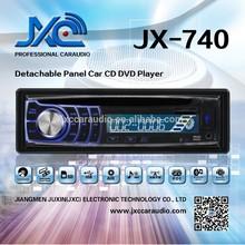 Universal Detachable One Din Car DVD Player