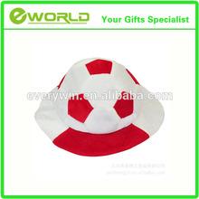 nuevo estilo de la moda barata de carnaval encantador de la moda barata de fútbol divertido sombreros
