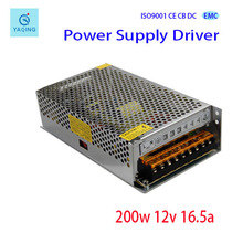 12V16.5A Favorites Compare CE And FCC Constant Voltage DC LED driver 200W 12v 16.5a power supply