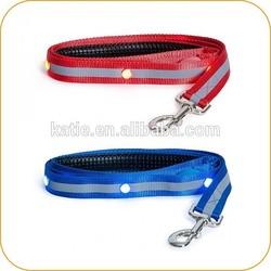 2014 Custom LED Flashing Rhinestone Dog Leash for Sale