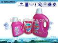 el mejor producto de venta líquido detergente de lavandería botella embalado