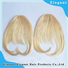 Natural looking virgin hair fringe the bang thing