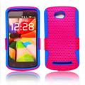 Wholsale caixa do telefone móvel para nokia lumia 710, Malha de volta capa para nokia lumia 710